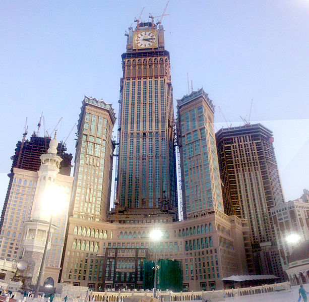 Abraj Al-Bait Towers Mecca,Saudi Arabia,601 m,1,971 ft,95 Floors,2011 442076534