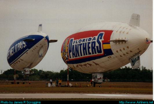 American Blimp Corporation A-60+,Florida Panthers 2