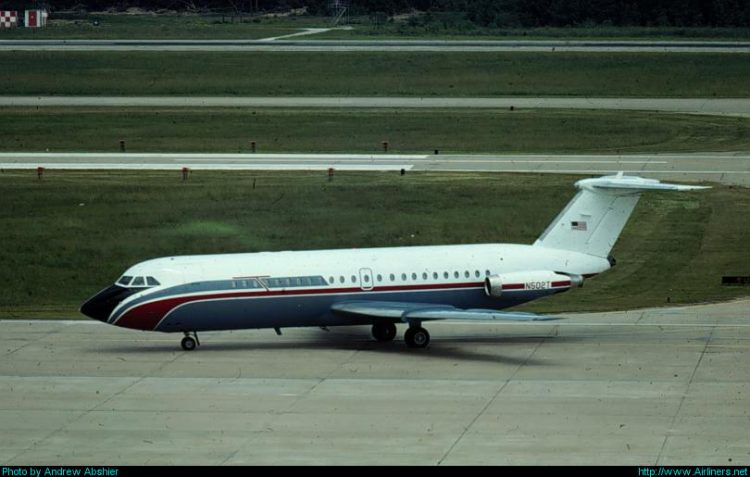 BAC 111-212AR One-Eleven,Untitled (Tenneco)