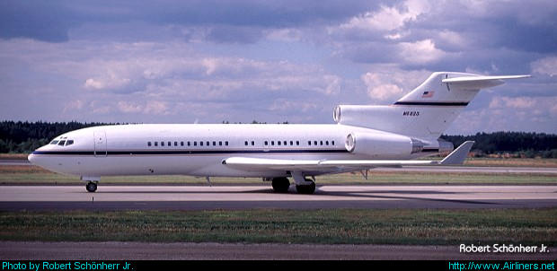 Boeing 727-76(RE) Super 27,Occidental Petroleum