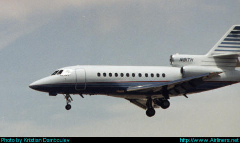 Dassault Falcon 900,Sony Corporate