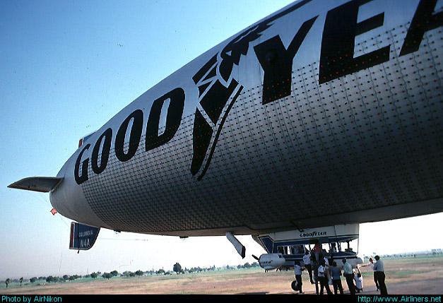 Goodyear Aerospace GZ-20A Blimp