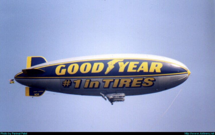 Goodyear Aerospace GZ-20A Blimp,New York