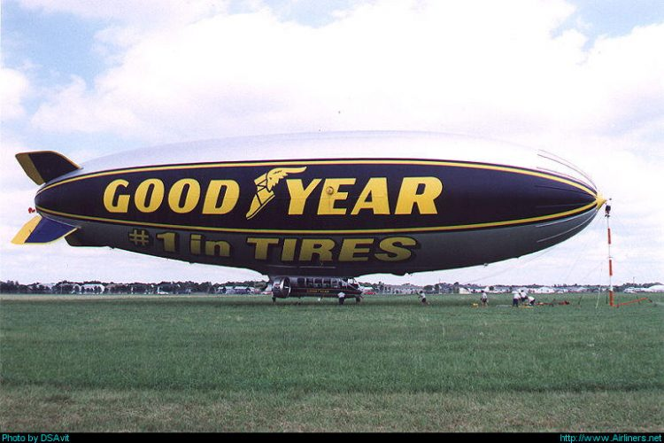 Goodyear GZ-22 Blimp,Fargo – Hector International