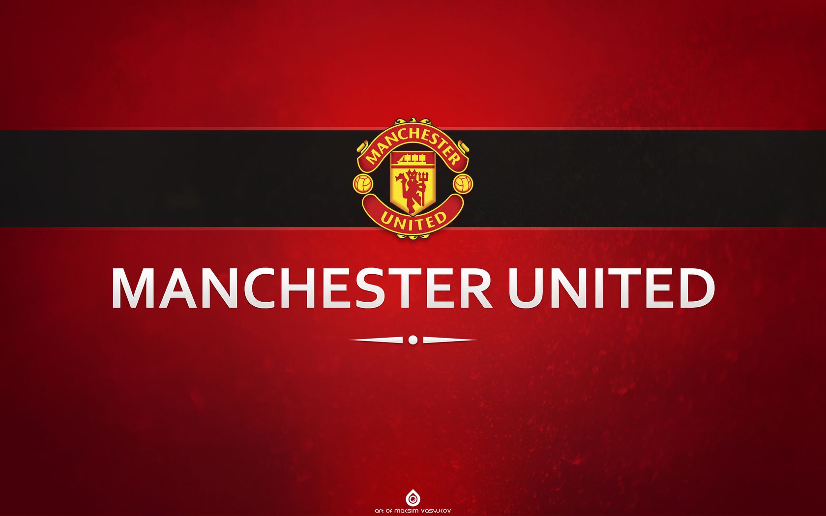 Manchester United Mu Emblem Football Hd Wallpaper