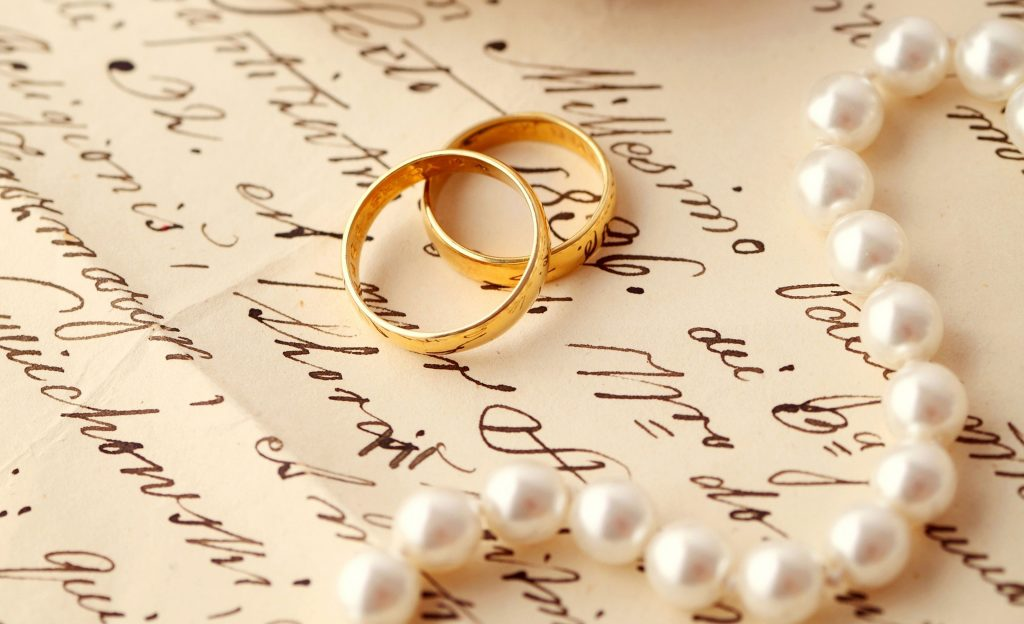 Ring Engagement Letter Pearl Wedding Hd Wallpaper Desktop