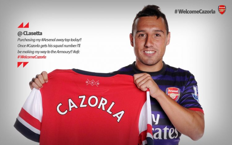 Santi Cazorla, arsenal, the best team in the world