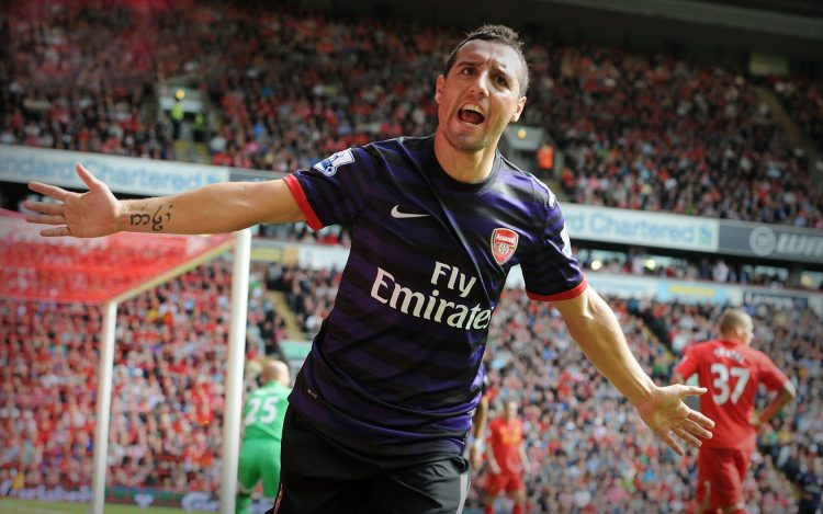 Santi Cazorla, man, footballer, arsenal, Football Club, Gunners