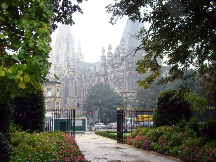 The Notre Dame Church of Laken – City of Brussels, Brussels, Belgium
