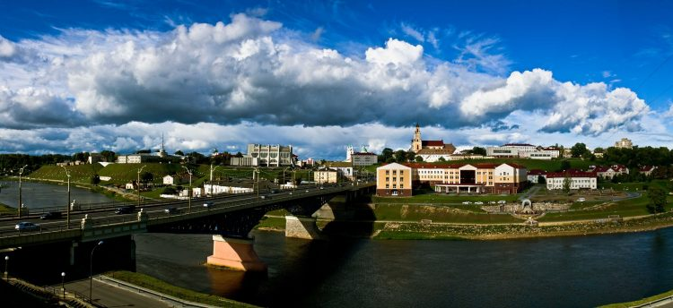 View from the Left Coast – Hrodna, Hrodna Province, Belarus