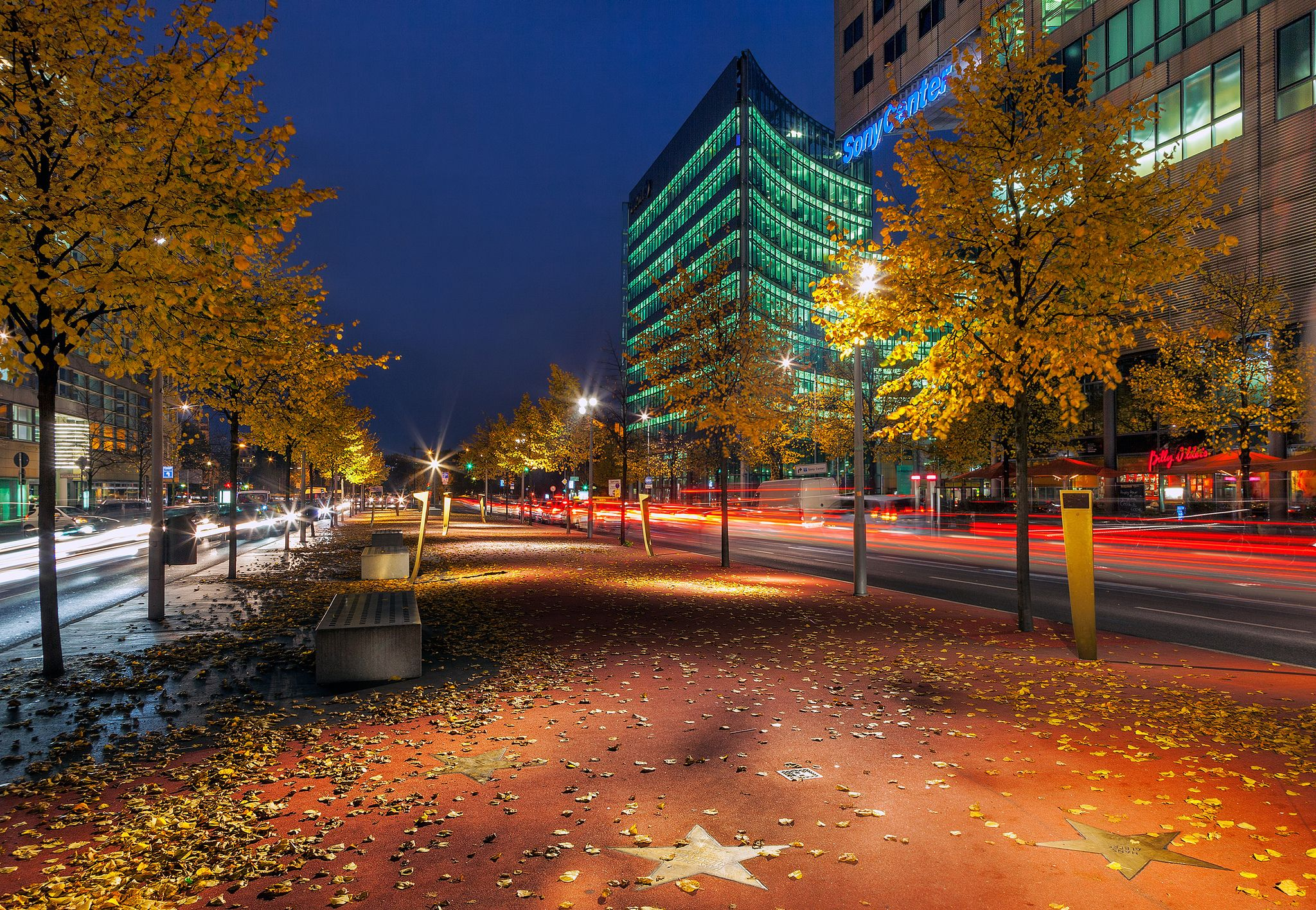boulevard der stars, potsdamer platz, berlin, Boulevard stars, Berlin, deutschland - HD wallpaper desktop backgrounds