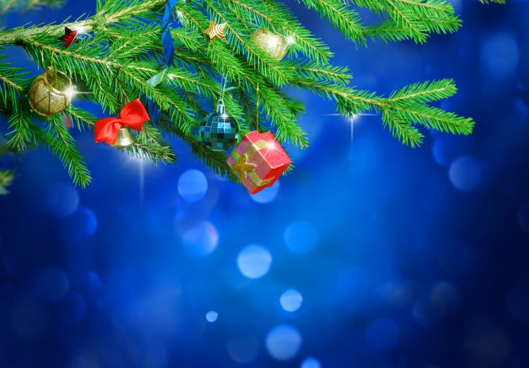 New Year, Balls, capsule, Christmas decorations