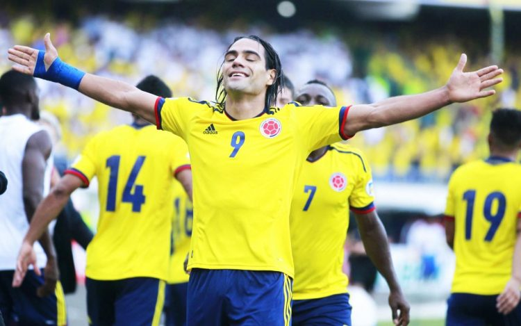 Radamel Falcao Garcia, Colombia, Paraguay, FIFA World Cup