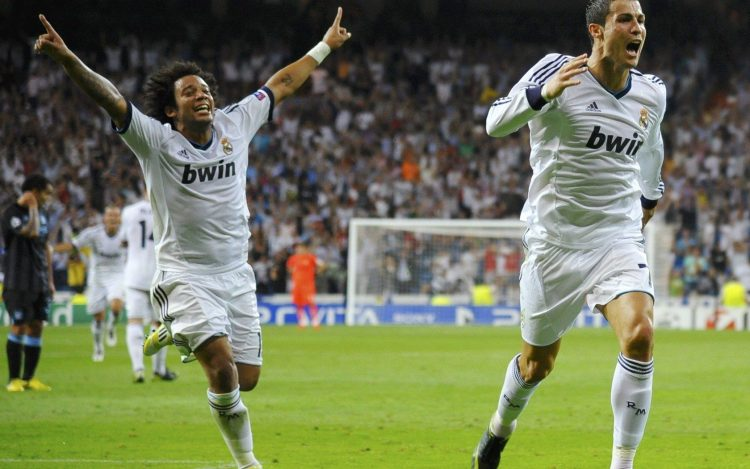 Real Madrid, Ronaldo, Marcelo