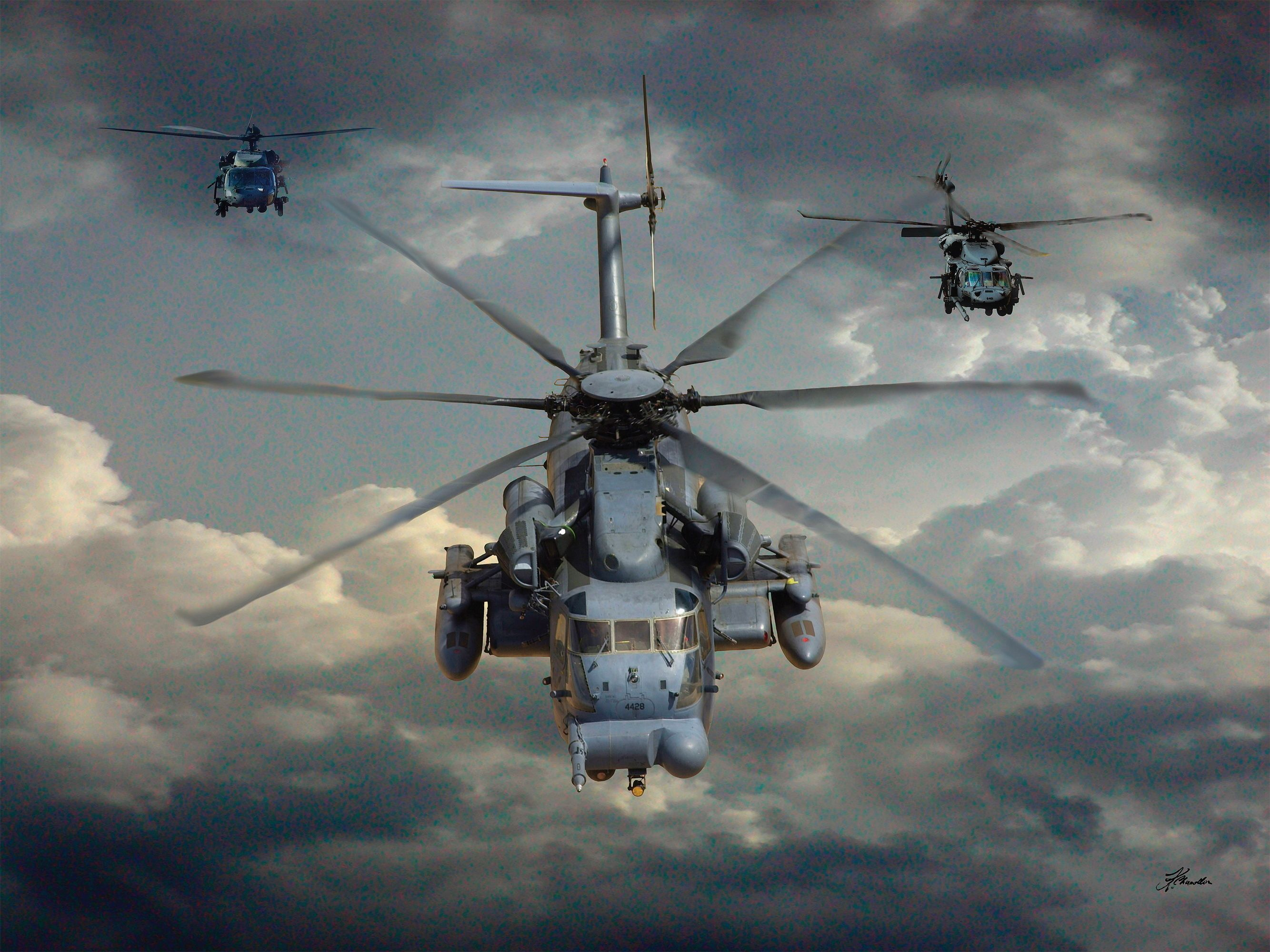 Sikorsky, MH-53M, Pave, Low IV, helicopter - HD wallpaper desktop backgrounds