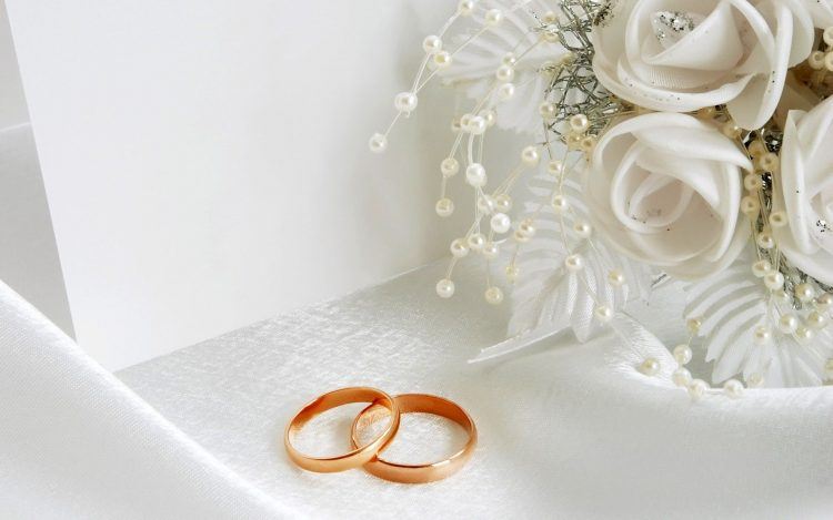 holiday, white, Ring, wedding, Flowers