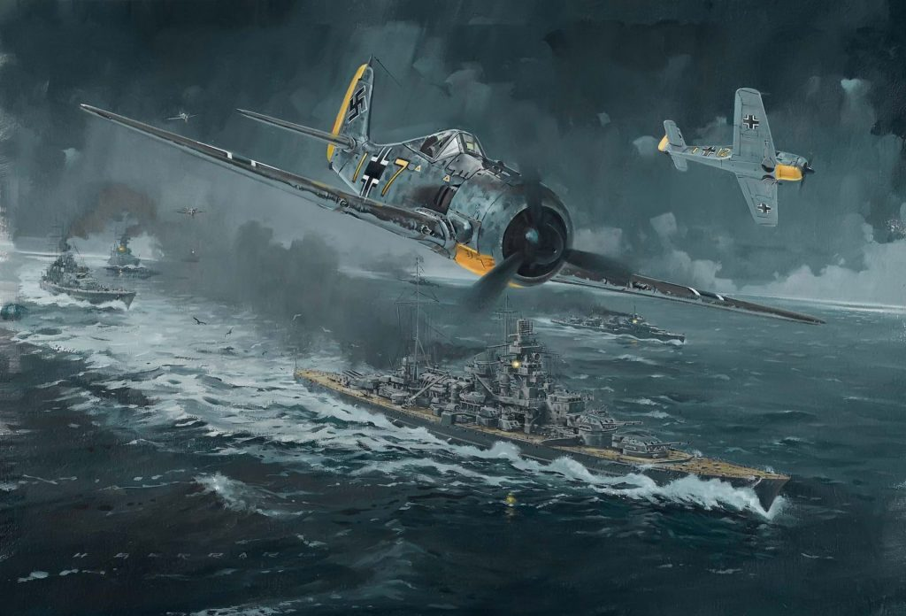 plane, ship, ATTACK, World War II