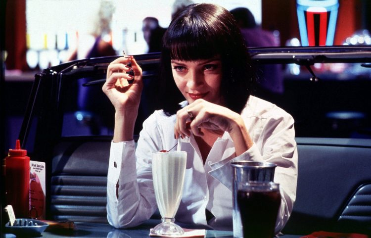 Pulp Fiction Mia Wallace Uma Thurman