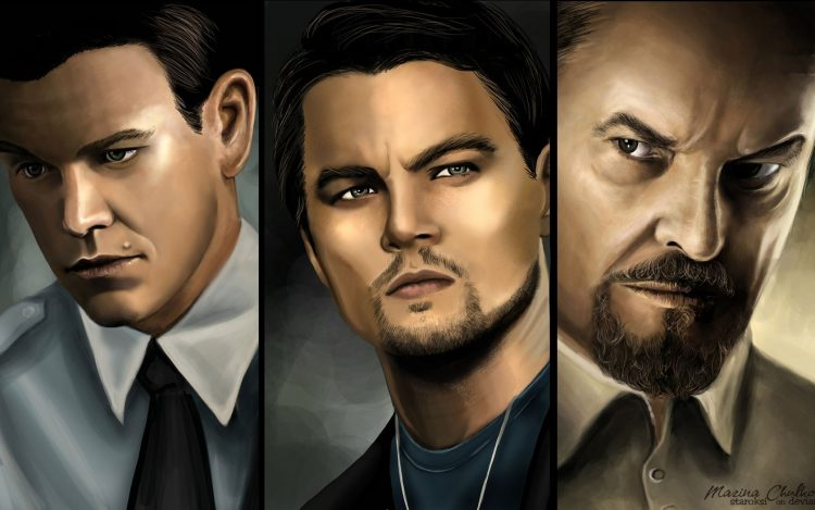 The Departed Leonardo DiCaprio Matt Damon