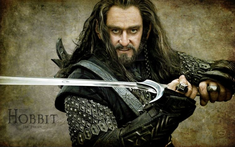 The Hobbit Sword Warrior Richard Armitage Torin Oakenshild