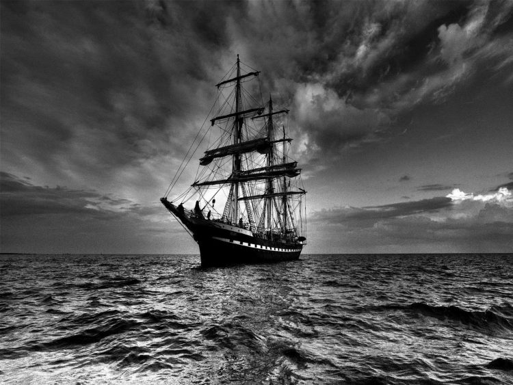 Sea, sky, ship, hd  desktop wallpapers , Pc backgrounds, free pictures