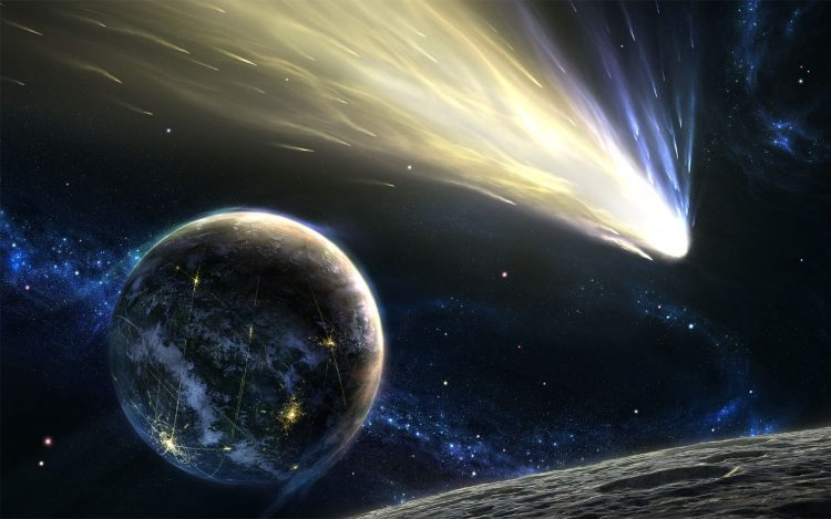 asteroid, planet, comet, tail, Star 01, hd  desktop wallpapers , Pc backgrounds, free pictures