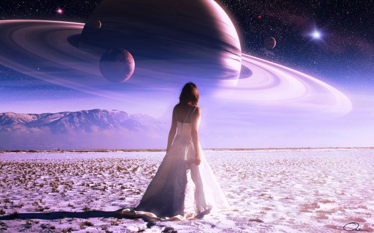 field, girl, Planet, hd  desktop wallpapers , Pc backgrounds, free pictures