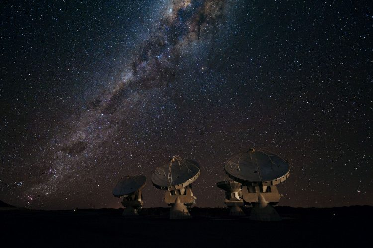 galaxy, Milky Way, Star, radio telescope 01, hd  desktop wallpapers , Pc backgrounds, free pictures