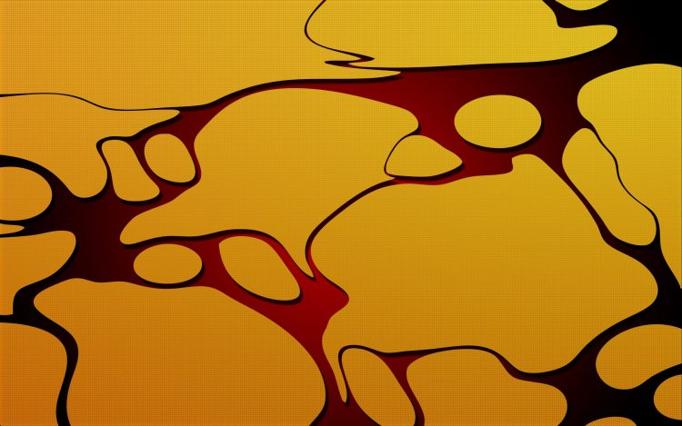 stains puddle abstraction yellow Wallpaper