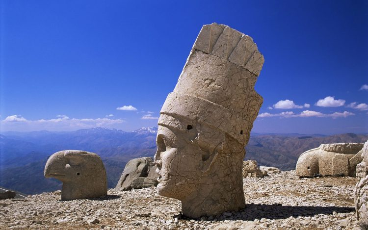 vertex, Mountains, stone, statues, hd  desktop wallpapers , Pc backgrounds, free pictures
