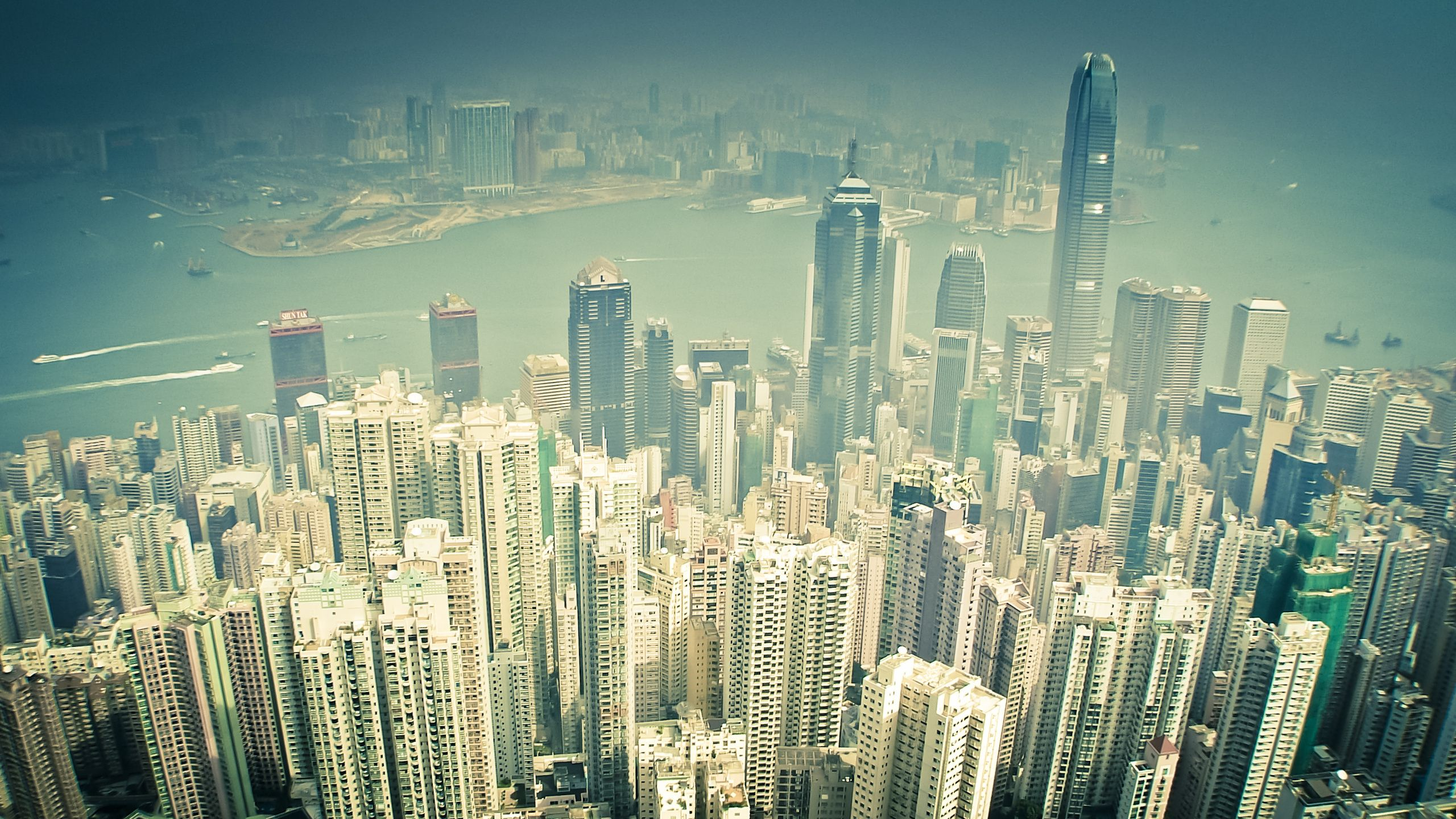 Hong Kong, city, height, Skyscrapers, wallpapers , Pc backgrounds, free photos - HD wallpaper desktop backgrounds