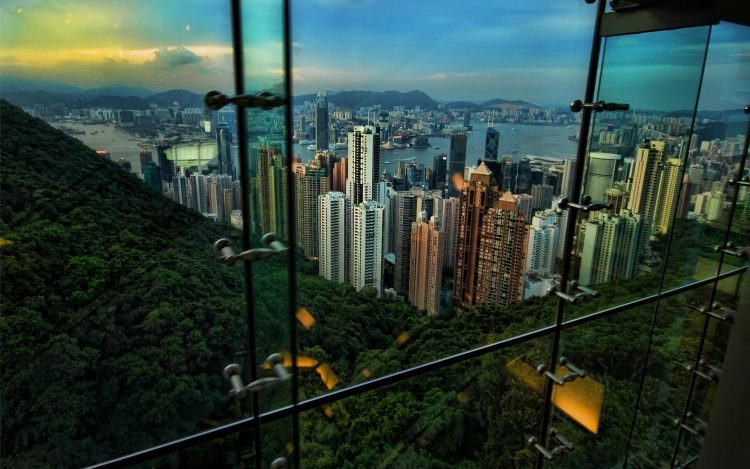 Hong Kong, form, out of the window, wallpapers , Pc backgrounds, free photos