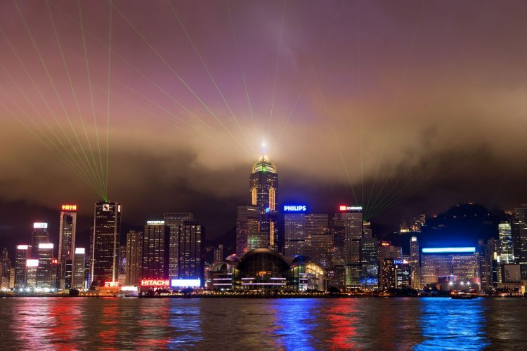 Hong Kong, night, Skyscrapers, lights, neon, sergey share, wallpapers , Pc backgrounds, free photos