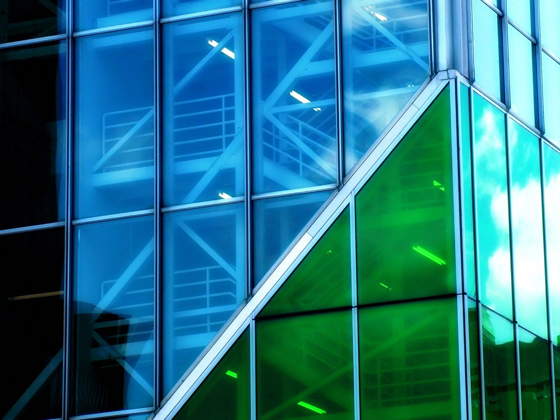 glass, blue, Green, building, wallpapers , Pc backgrounds, free photos - HD wallpaper desktop backgrounds