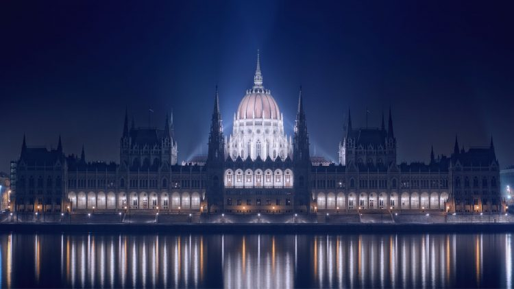 Hungary, Budapest, night, building, wallpapers , Pc backgrounds, free photos