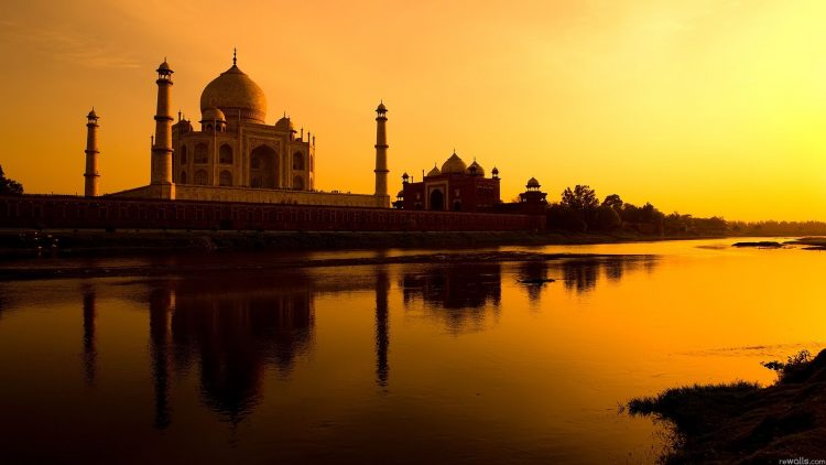 India, sunset, Taj Mahal, wallpapers , Pc backgrounds, free photos