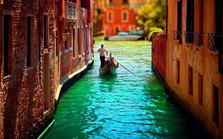 Italy, Venice, boat, man, wallpapers , Pc backgrounds, free photos