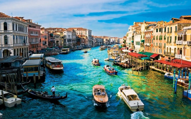 Italy, Venice, channel, building, home, wallpapers , Pc backgrounds, free photos