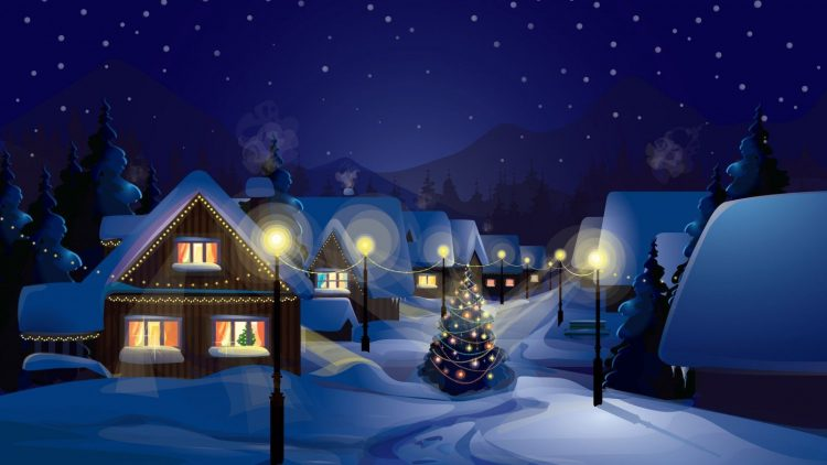 Christmas, christmas eve, winter, snow, wallpapers , Pc backgrounds, free photos