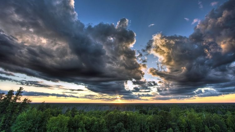 land, sky, thunderclouds, wallpapers , Pc backgrounds, free photos