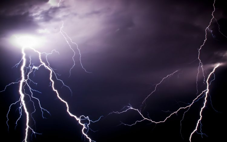 lightning, discharge, electricity, sky, night, wallpapers , Pc backgrounds, free photos