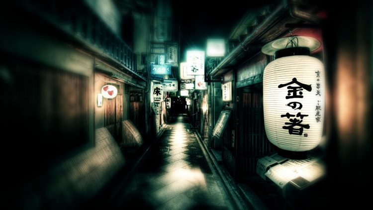 Japan, Street, lights, wallpapers , Pc backgrounds, free photos
