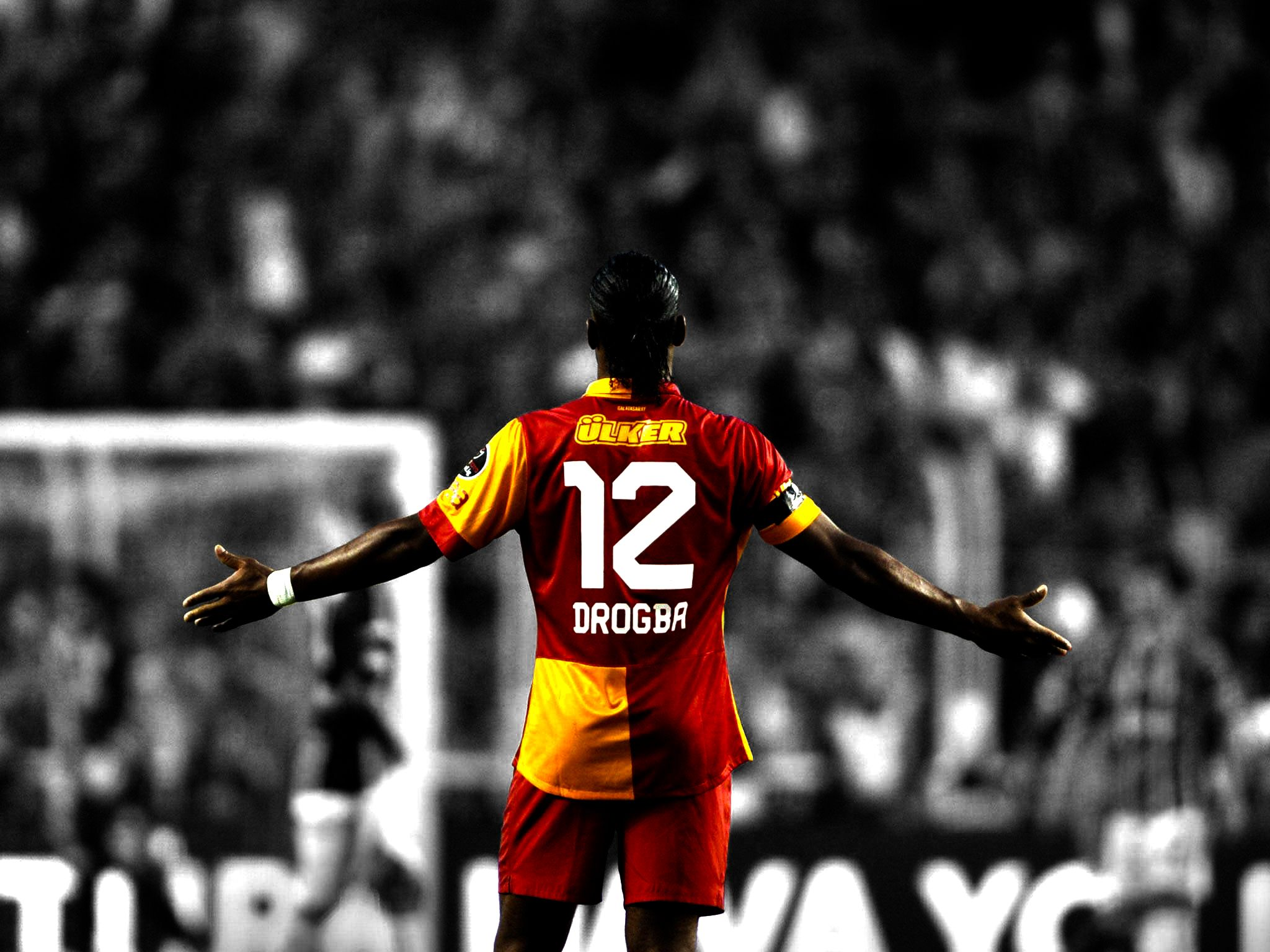 Didier, Drogba, Galatasaray, Lion, black, wallpapers , Pc backgrounds, free photos - HD wallpaper desktop backgrounds