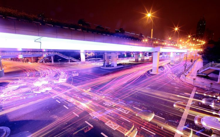 lights, light, highway, road, wallpapers , Pc backgrounds, free photos