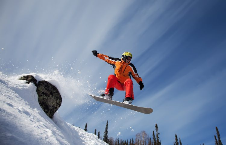 Sport, jump, stone, snowboard, wallpapers , Pc backgrounds, free photos