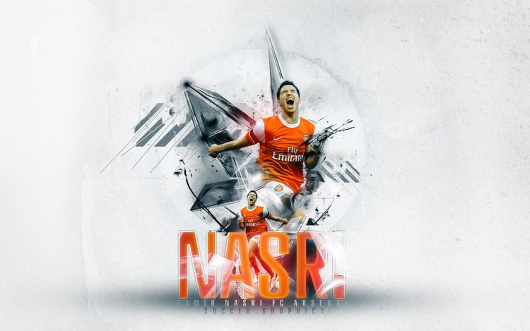 nasri, arsenal, wallpapers , Pc backgrounds, free photos