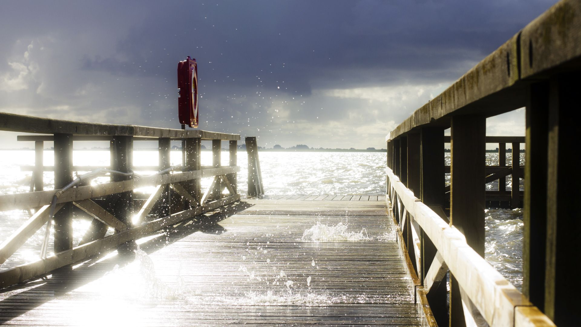 pier, water, sky, wallpapers , Pc backgrounds, free photos - HD wallpaper desktop backgrounds