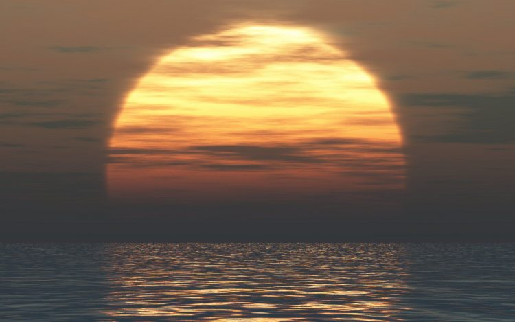 sunset, sun, Sea, wallpapers , Pc backgrounds, free photos