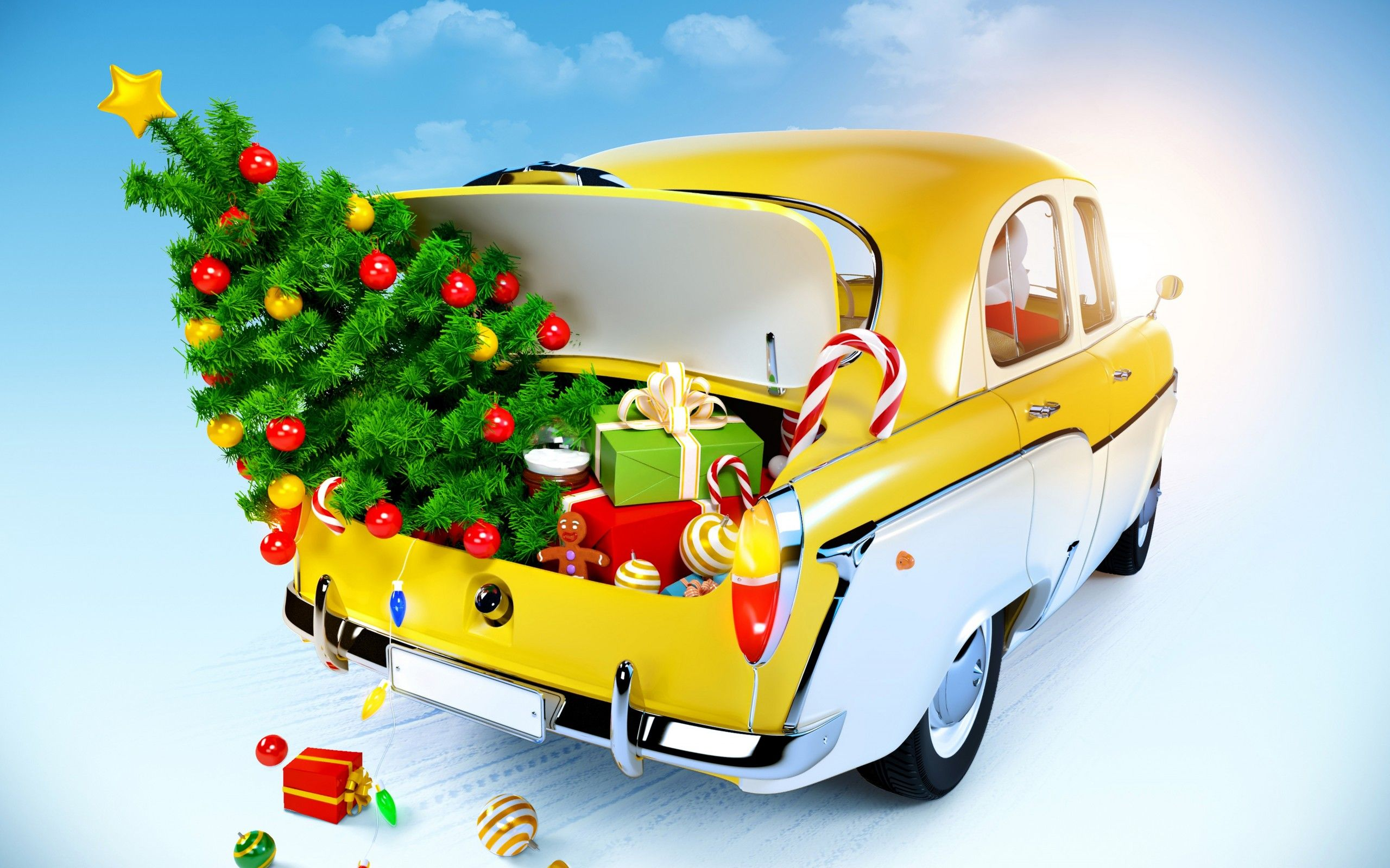 holidays, merry, Christmas, new, year 01, wallpapers , Pc backgrounds, free photos - HD wallpaper desktop backgrounds